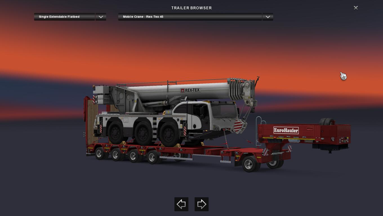 dlc heavy cargo pack mod ets2 euro truck simulator 2 mod. Black Bedroom Furniture Sets. Home Design Ideas