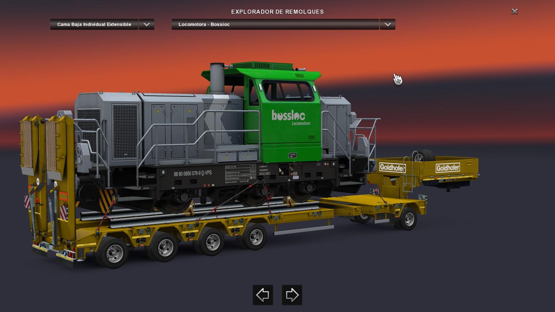 goldhofer heavy cargo pack ets2 euro truck simulator 2 mod ets2 mod. Black Bedroom Furniture Sets. Home Design Ideas