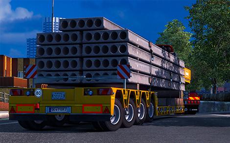 Heavy Cargo Mod for Multiplayer - Euro Truck Simulator 2 mod