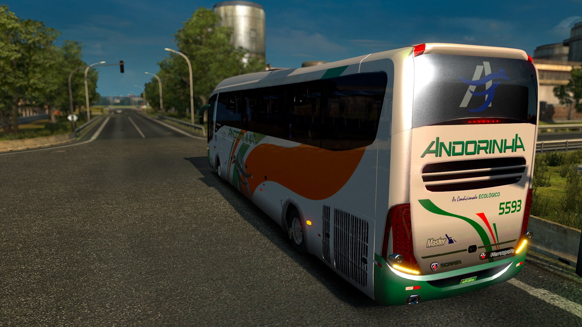 Marcopolo Paradiso G7 1200 Bus Mod ETS2 - Euro Truck