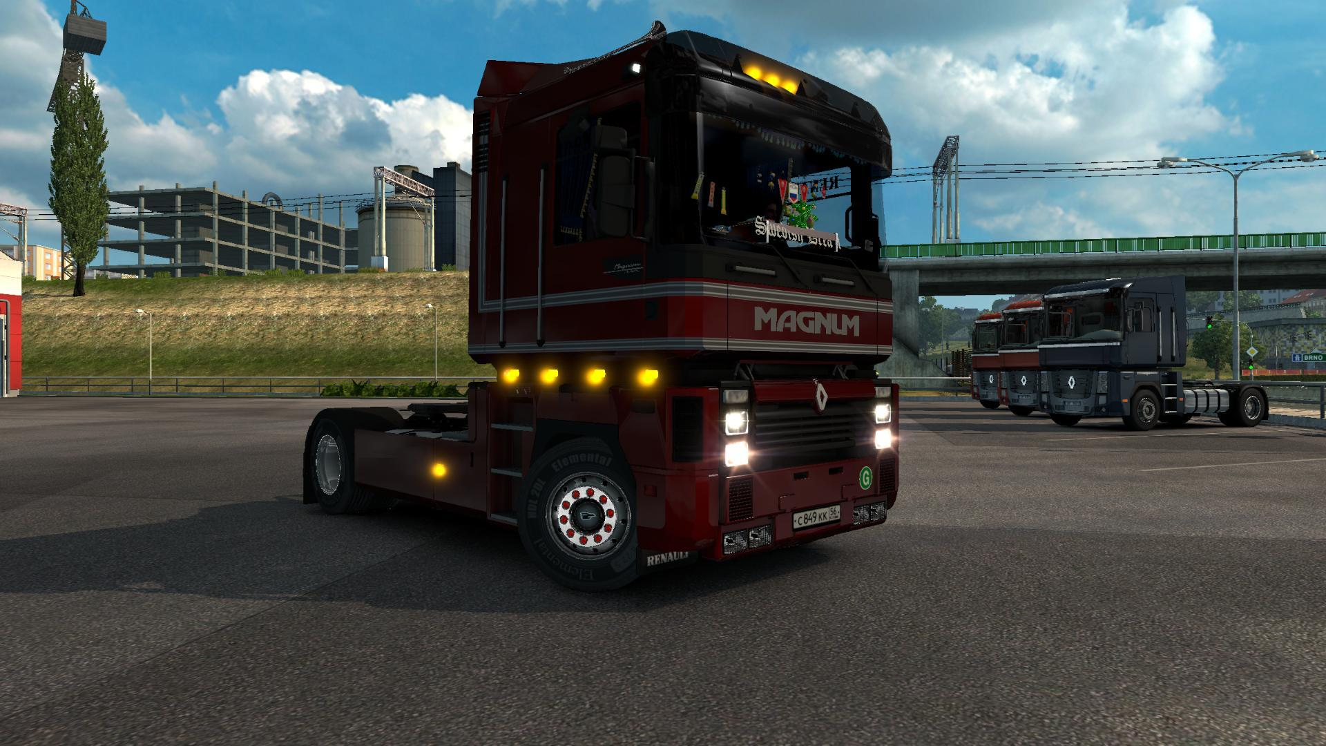 renault integral 390 new 2016 for ets2 euro truck simulator 2 mod ets2 mod. Black Bedroom Furniture Sets. Home Design Ideas