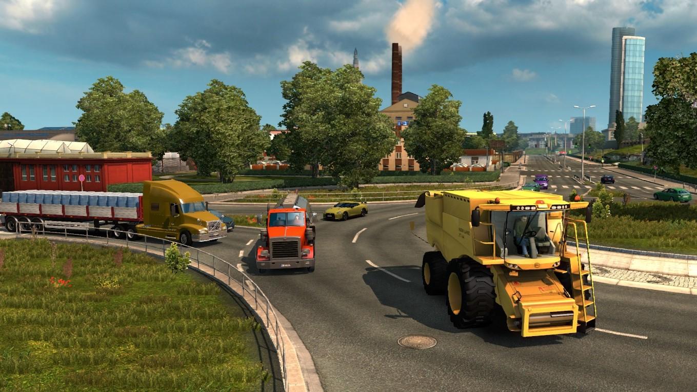 Real Traffic Density Mod v 2 2 - Euro Truck Simulator 2 mod