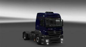 Mercedes Benz Axor 2544 Truck Mod V 1 0 Ets2 Euro Truck Simulator