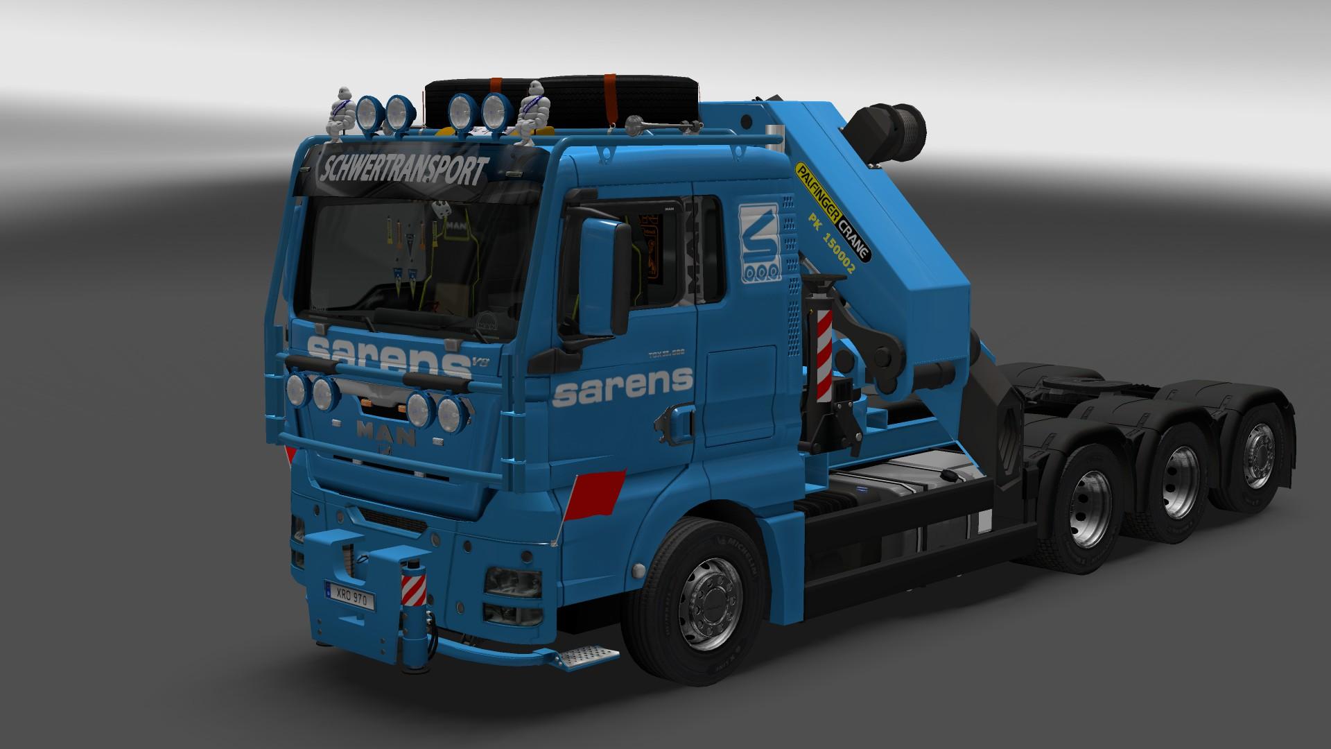 Volvo Truck Parts >> MAN TGX 2010 Truck Mod v 3.5 ETS2 - Euro Truck Simulator 2 mod / ETS2 mod