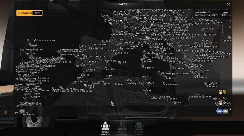 mega map v20 fix map for ets2