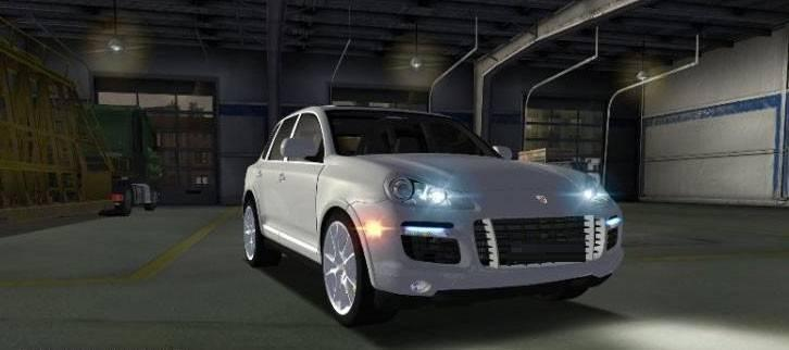 porsche cayenne turbo 2012 v1 0 mod euro truck simulator. Black Bedroom Furniture Sets. Home Design Ideas