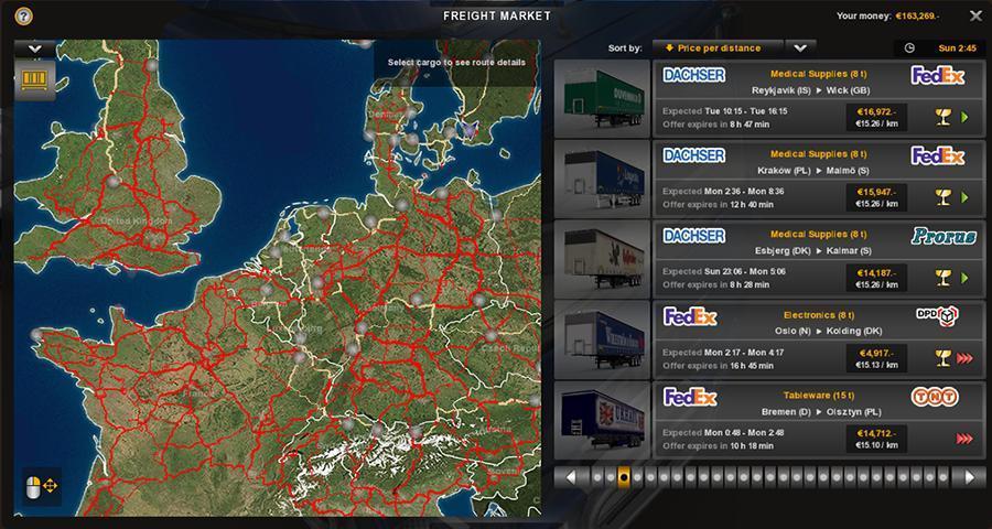PROMODS COLOUR MAP 1 25 3 ETS2 - Euro Truck Simulator 2 mod
