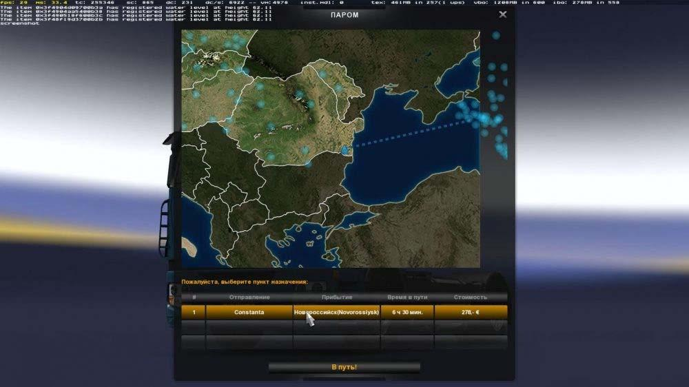 FERRY CONNECTION MOD: SOUTHERN REGION AND PROMODS ETS2 1 27