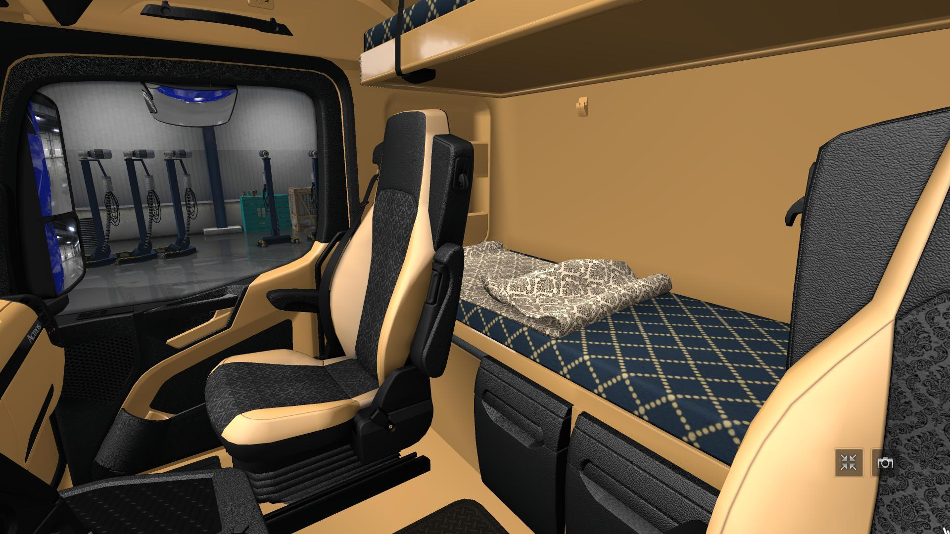 Mercedes Actros Mp Hd Interior Fix
