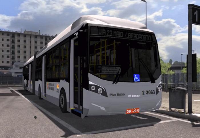 NEW MEGA LONG BUS MOD 1 30 x ETS2 - Euro Truck Simulator 2